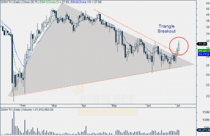 Dish TV Daily Chart