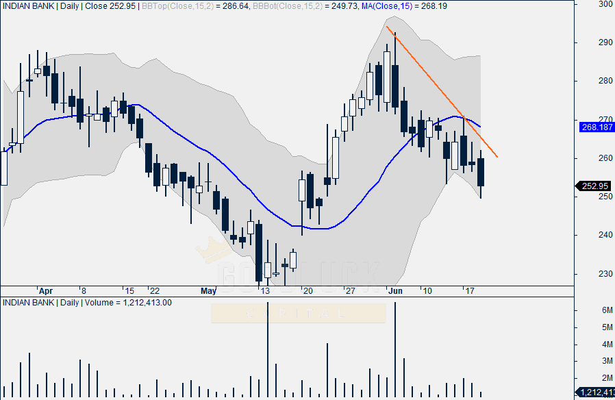 Indian Bank Daily Chart